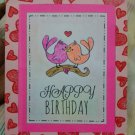 Birthday card & envelope - Free Shipping