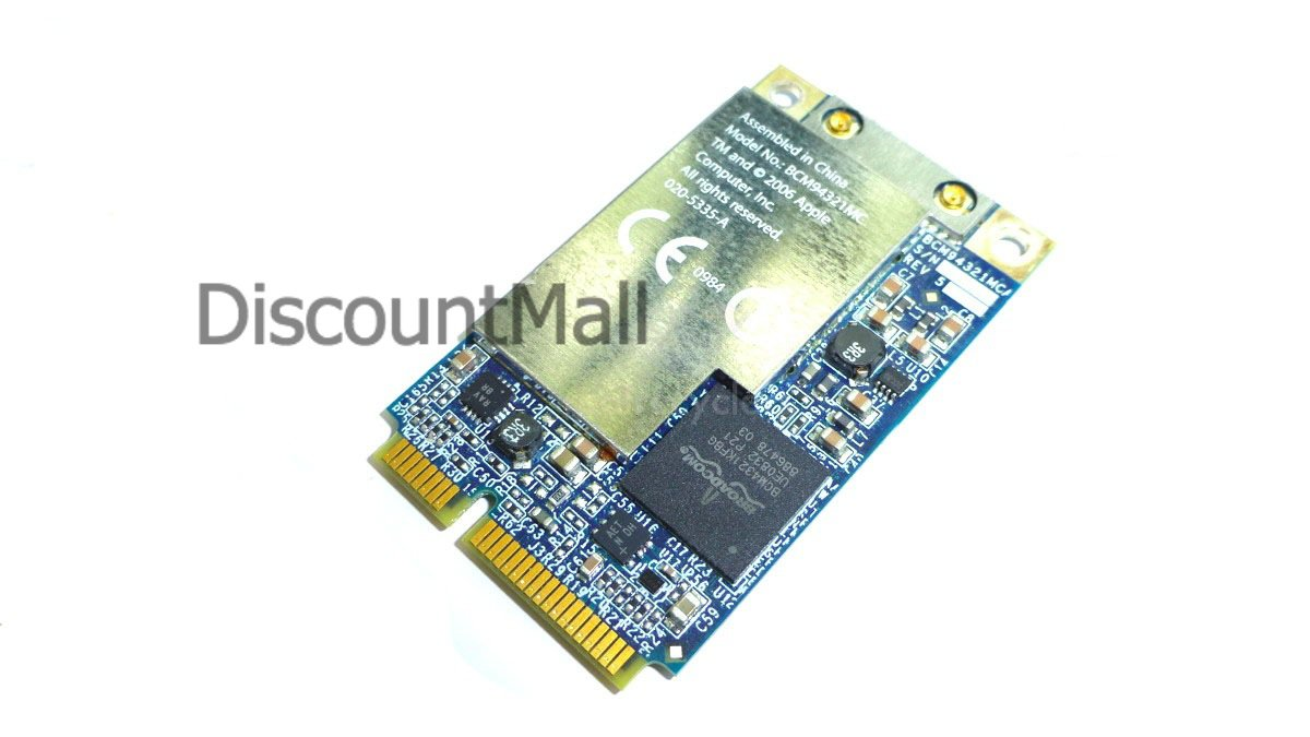 New Apple MacBook, Mac Pro, White iMac and MacBook Pro Airport Extreme Wireless WiFi Card BCM94321MC