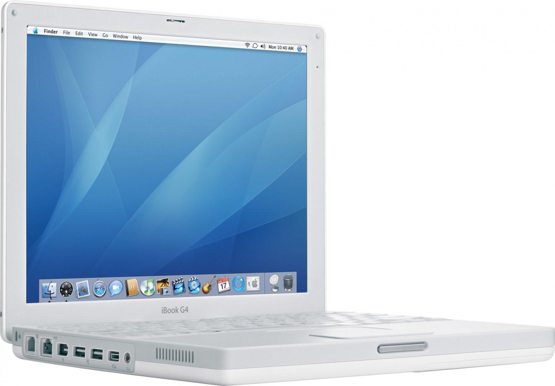Apple iBook G4 1.33GHZ Laptop - 40GB HD - Leopard- Office 04- LOADED
