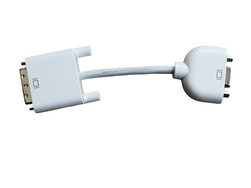 NEW � Genuine Apple DVI to VGA Display Adapter � Convert Video Connections