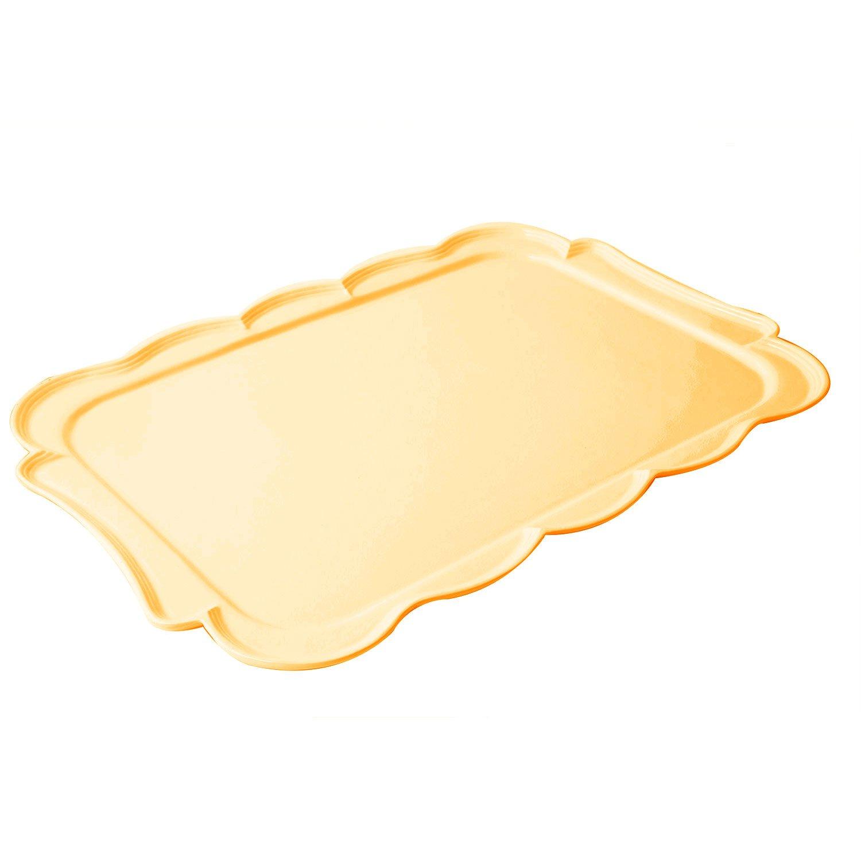 18 x 26 inch Queen Anne Platter Sandstone Harvest Gold