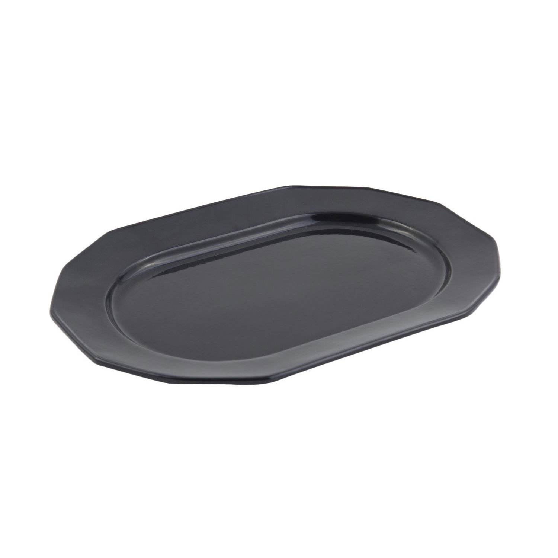 9 7/8 x 14 1/4 inch Prism Tray Sandstone Black
