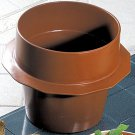10 qt 12 oz Soup Bowl with Collar Sandstone White