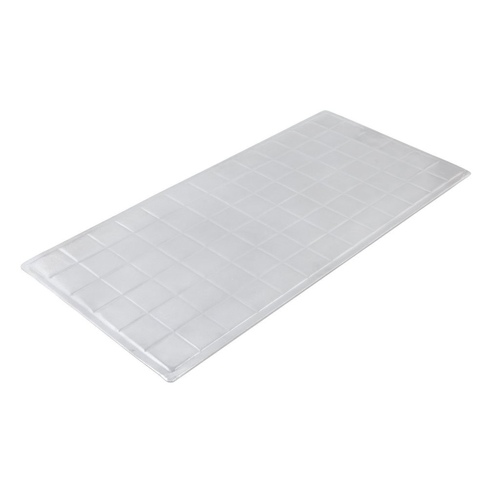 13 5/8 x 28 5/16 inch Long Size Tile Tray Pewter Glo