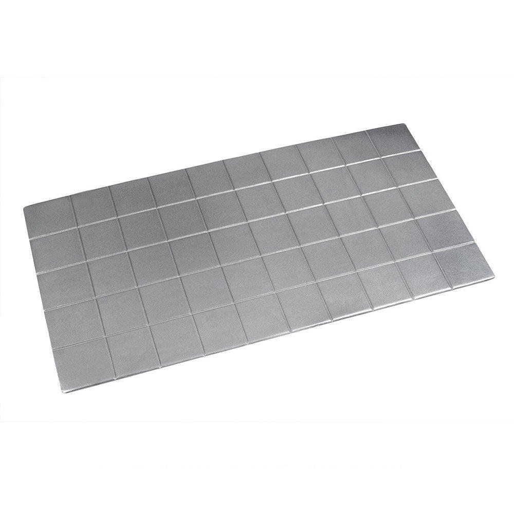 41 x 21 1/2 inch Triple Size Tile Tray Sandstone Smoke Gray