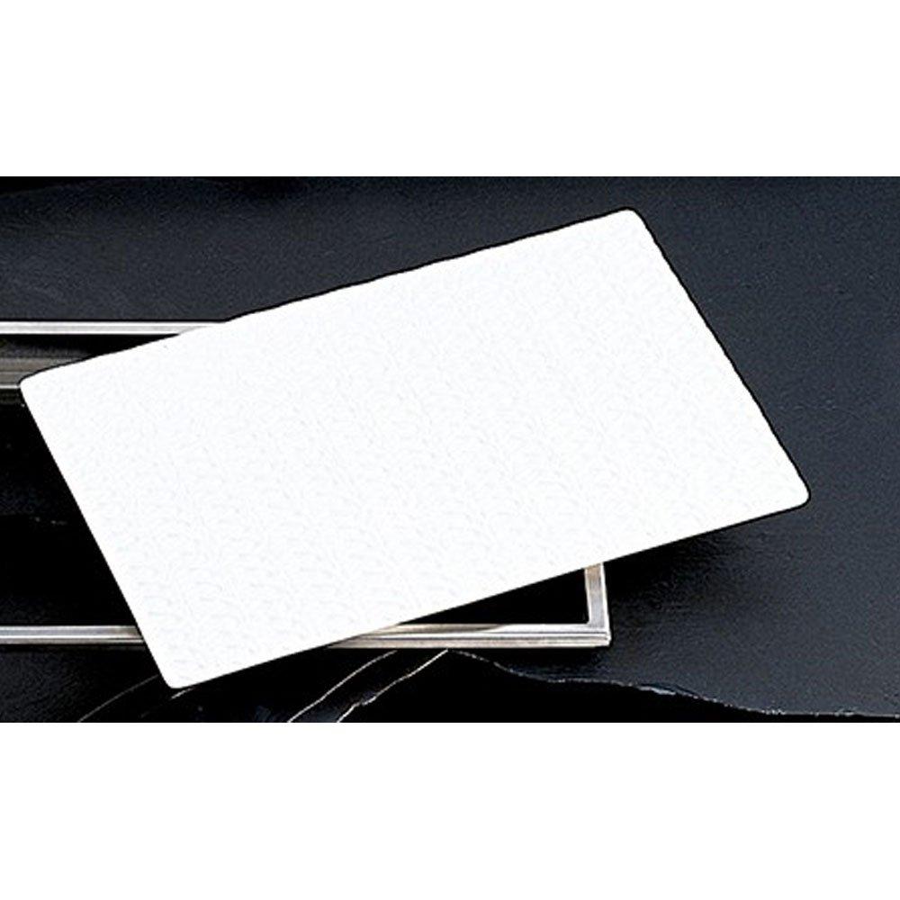 13 1/8 x 21 1/2 inch Single Tile Trellis Design Sandstone Ivory Speckled