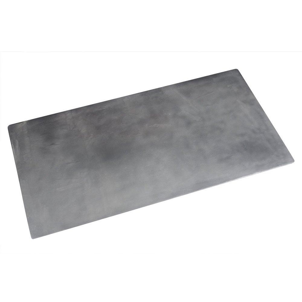 41 x 21 1/2 inch PlaIn Triple Size Tile Tray Sandstone White