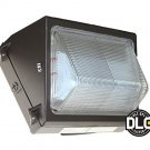 80W LED Wall Pack Light - Forward Throw - DLC - Free Shipping