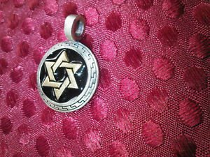 ZIK ZOK Men or Women Fine Jewelry Gold silver pewter Gothic  PENDANT  TM&C