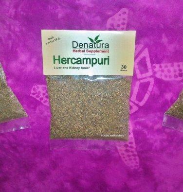 HERCAMPURI HERB organic Bitter Tea BAGS liver tonic Burn-Fat Hangover Hepititus