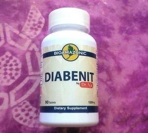 90 tablets DIABENIT BioAmazonic diabetic high blood DR NIE WENTAO natural HERBS
