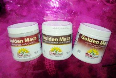 golden MACA HERB POWDER  virility energy.Natural DARK CHOCOLATE 4.3oz 120 grams