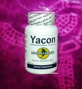YACON ROOT HERB diabetes hipocaloric ORGANIC NATURAL sweetener 60 capsules