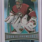 06-07 Trilogy Niklas Backstrom Rookie /999