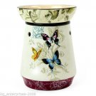 Butterfly Design Electric Oil Tart Candle Wax Warmer Burner