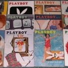 PLAYBOY 1956 MAGAZINES 12 ISSUES 56 YEAR JAN-DEC