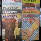 PLAYBOY 1955 MAGAZINES ALL ISSUES