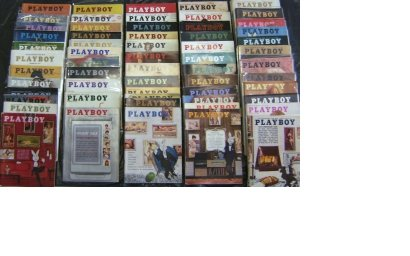 PLAYBOY 1960 1961 1962 1963 ~ 1964 MAGAZINES 60 ISSUES