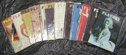 Playboy Magazines Full Year 1964