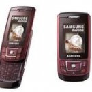 Samsung D900i Red Wine Quadband World GSM Phone (Unlocked)