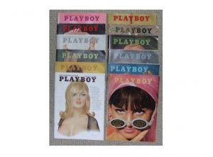 PLAYBOY 1965 MAGAZINES FULL YEAR