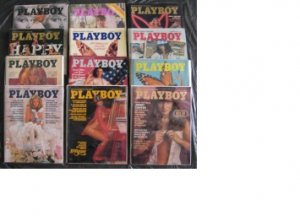 PLAYBOY 1976 MAGAZINES 12 ISSUES COMPLETE