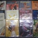 PLAYBOY 1963 MAGAZINES FULL YEAR
