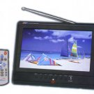 "Supersonic 9"" Portable TV With Battery Pack and AC/DC"