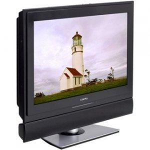 """Audiovox 27"""" HDTV Flat Panel LCD TV Built In Side Loading DVD Player"""