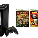 Xbox 360 Elite 120GB Console w/ 2 Bonus Games