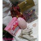 Chakras Collection: Rose Quartz Large Yoni Egg (40*65) drilled