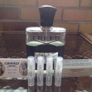 CREED AVENTUS Eau De Parfum FOUR Sample Spray Atomizers Batch 17Q01 -100% Authentic