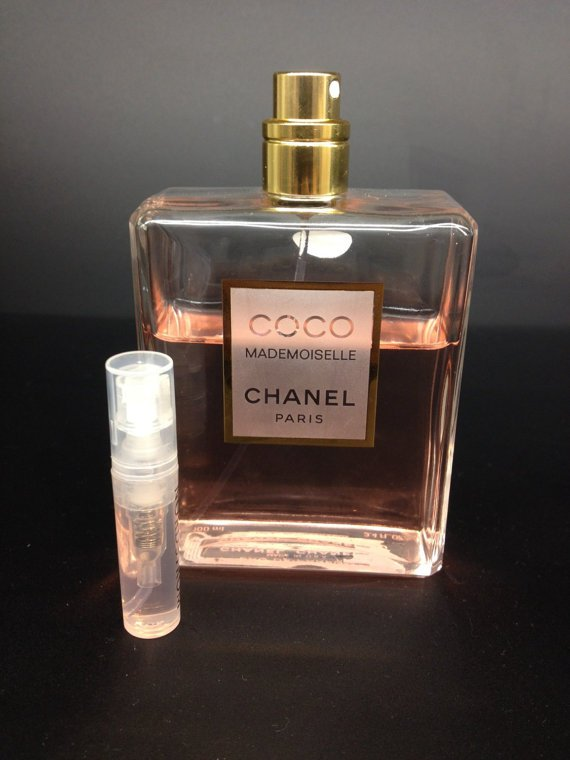 CHANEL COCO MADEMOISELLE PERFUME -  1.7 ml Sample Spray Atomizer - 100% Authentic