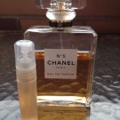 CHANEL NO 5 EAU DE PARFUM- 5 ml Perfume Sample Spray Atomizer - 100% Authentic
