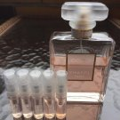CHANEL COCO MADEMOISELLE PERFUME- FIVE 1.7 ml Sample Spray Atomizers - 100% Authentic