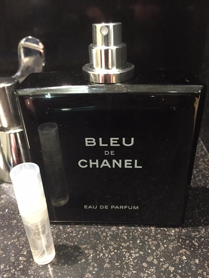 BLEU DE CHANEL Eau De Parfum - 1.7 ml Cologne Sample Spray Atomizer - 100% Authentic
