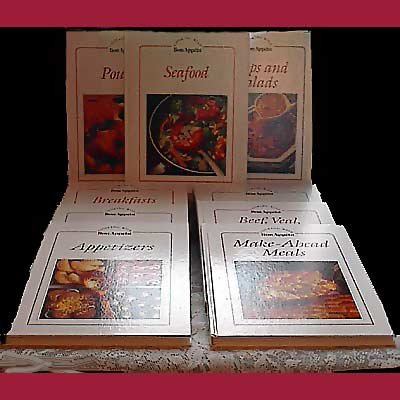 Lot of 9 COOKING WITH BON APPETIT Books HARDCOVER