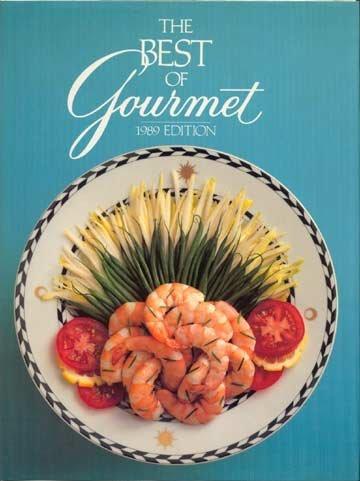 THE BEST OF GOURMET 1989 Cook Book RECIPES Huge! HC/DJ