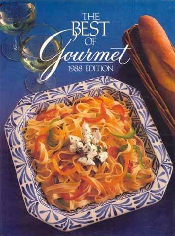 THE BEST OF GOURMET 1988 Cook Book RECIPES Huge! HC/DJ