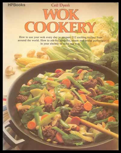 WOK COOKER Ceil Dyer CHINESE Stir-Fry RECIPES Oriental