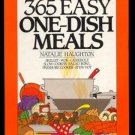 365 EASY ONE-DISH MEALS Skillet WOK Casserole CROCK...