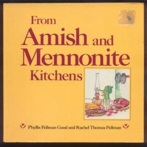 1984 AMISH Mennonite KITCHENS Cookbook RECIPES