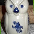 Blue & White VINTAGE OWL CREAM PITCHER Philippines