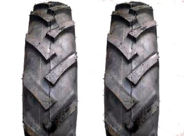 2 (a pair) - 6.00-16 BKT - Lug tires-tubes - fits VINTAGE Walk Behind- FREE SHIPPING
