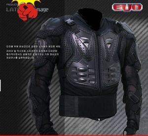 Free Shipping Man Off Road Motorcycle Armor Protector body Jacket Racing Black