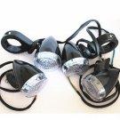 4X LED Turn Signal Light w/ 39mm clamp for Harley Dyna Sportster Bobber Cruiser