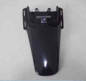 Black Plastic Kit Backgrounds Rear Fender For HONDA CRF50 XR50 Dirt Pit Bike