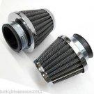 2 X 54MM Air Filter For Kawasaki GPZ750/ 900 KZ750 LTD KZ900 KZ1000 ZL900 ZL1000