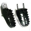 1Pair FootPegs Foot Pegs For Honda CR 80 XR250 XR350R XR400 XR600R XR650L XR650R