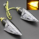 Amber Turn Signal Lights For Suzuki SV1000 SV650 GS500E GSXR1000 750 Motorbike